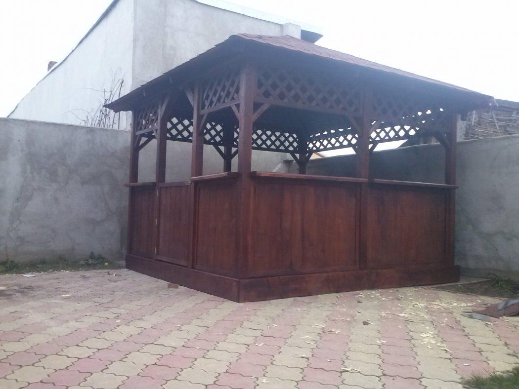 Preturi Pavilion Gradina Garduri Din Lemn Modele Terase Din Lemn