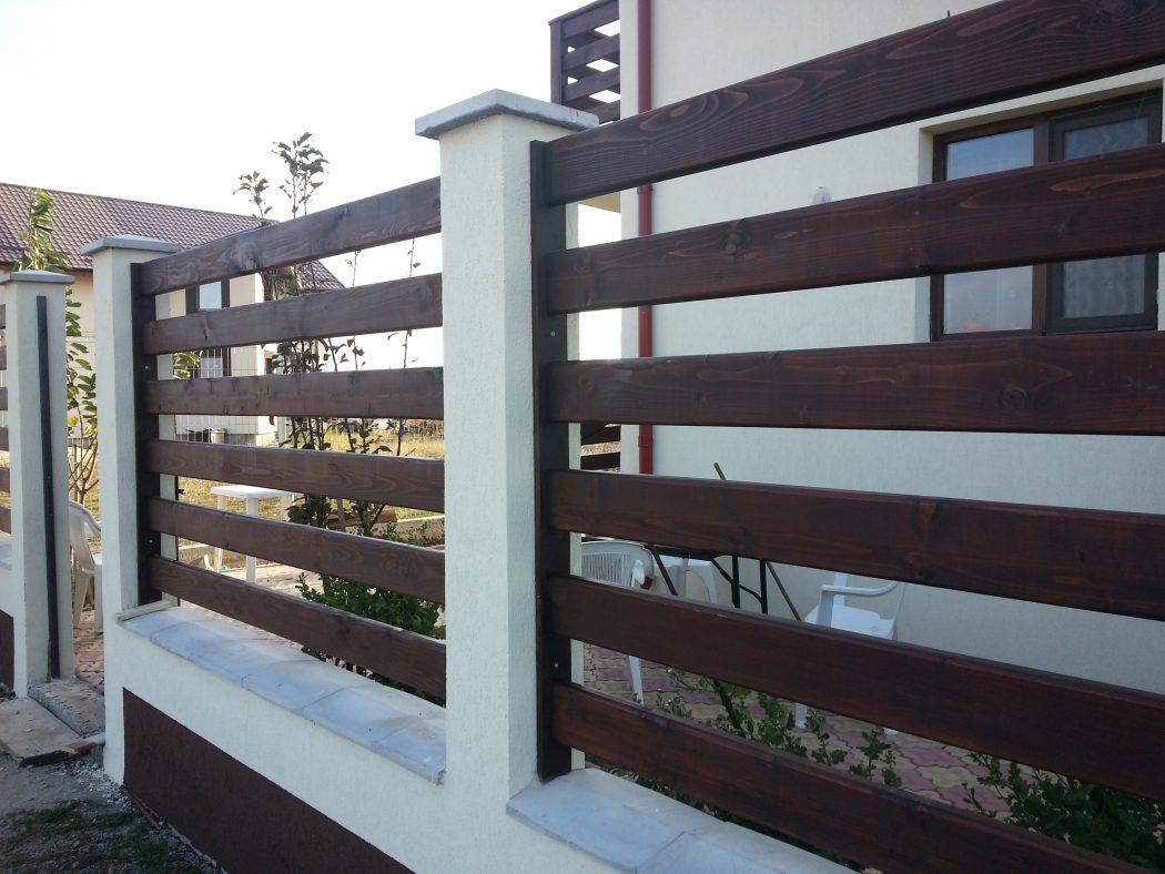 Cel mai bun pret pentru garduri garduri din lemn modele for Modele de garduri pentru case