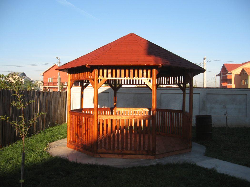 Poze Pavilion Gradina Garduri Din Lemn Modele Terase Din Lemn